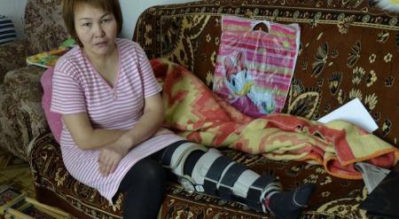 Пострадавшая в ДТП в Караганде с участием полицейского отсудила 700 тысяч тенге у ДВД