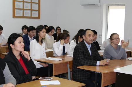 Актауские студенты обсудили перспективы развития туризма в Республике Казахстан