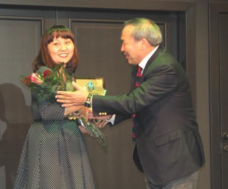 В Актау вручили премии лучшим благотворителям 2014 года