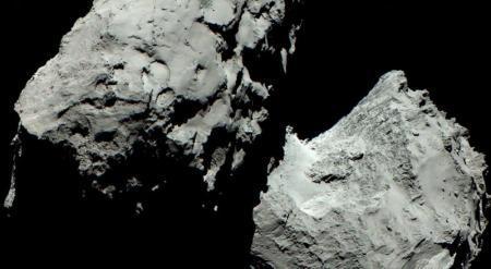 Получено первое цветное фото кометы Чурюмова-Герасименко