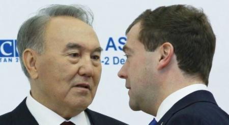 Назарбаев назвал благом общие таможенные границы с Россией