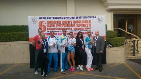 Воспитанница мангистауской федерации бодибилдинга и фитнеса завоевала бронзу на чемпионате мира в Индии