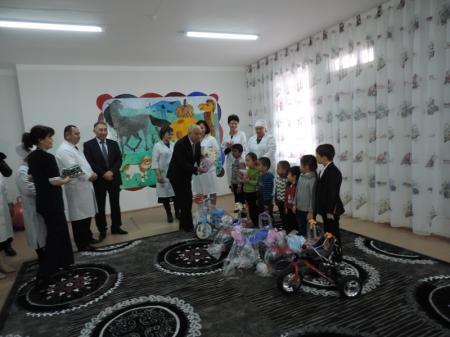В Актау после капитального ремонта открылось детское отделение тубдиспансера