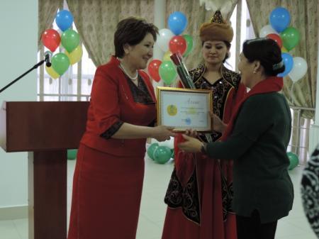 Медработники Мангистау получили награды в честь Дня Независимости