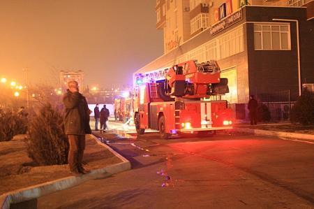 В Актау произошел очередной пожар в элитном доме