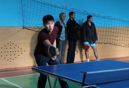 В Актау определились победители открытого турнира по настольному теннису