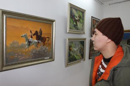 В арт–галерее «Өнер» определились победители конкурса «Лучший натюрморт — лучший портрет»