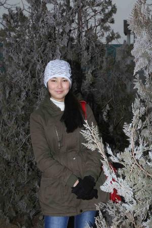 Иней в Актау. Фотопост