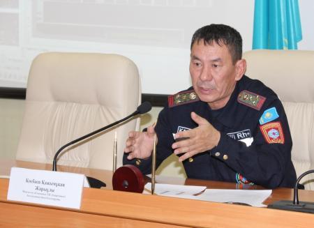 Мангистауские спасатели напомнили о правилах пожарной безопасности во время новогодних праздников
