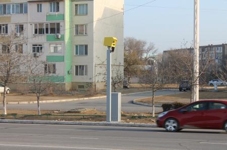 В Актау запустили новые интеллектуальные перекрестки и скоростемеры