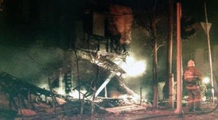 В Шымкенте взрывом разрушило восьмиквартирный дом