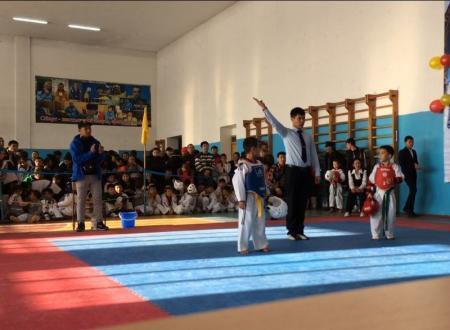Актауские таеквондисты привезли пять медалей с республиканского турнира
