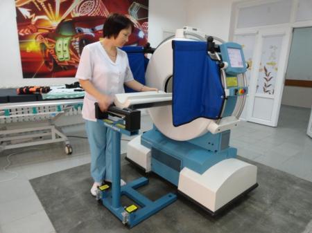 Мангистауская детская больница приобрела мобильный томограф
