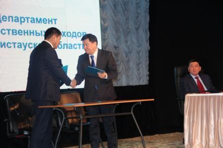 Палата предпринимателей и департамент государственных доходов Мангистауской области подписали меморандум