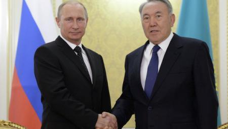Путин и Назарбаев подписали протокол о ратификации Договора о союзничестве в XXI веке