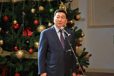 В Актау прошла Президентская елка