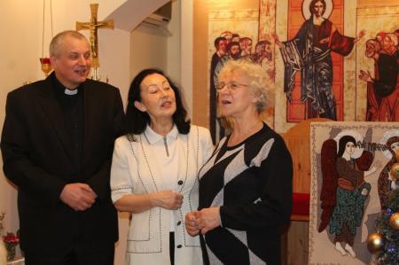 Католическая церковь Актау отмечает Рождество Христово