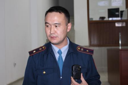 ДВД Мангистауской области: Каждый инспектор дорожно-патрульной полиции снабжен видеорегистратором