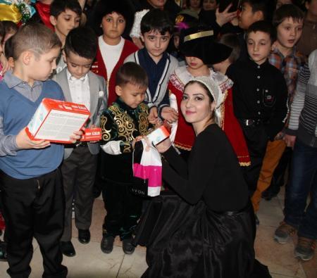 В Актау прошел открытый урок ансамбля кавказского танца «Шадвал»