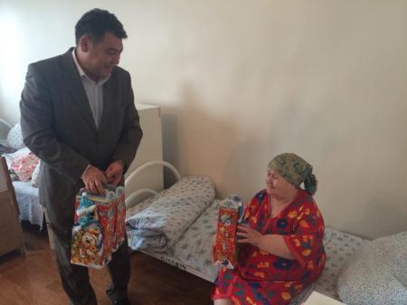 В Актауском доме-интернате для престарелых прошел благотворительный концерт