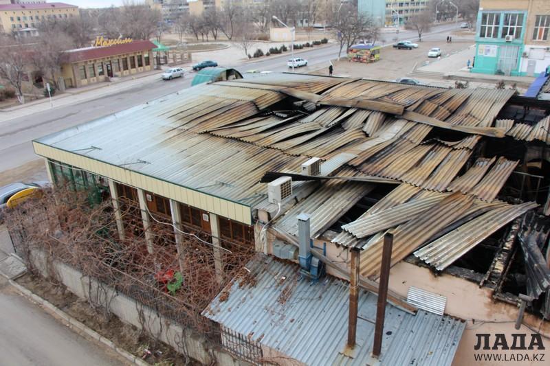В мангистауском ДЧС назвали причину пожара в кафе «Ветерок»