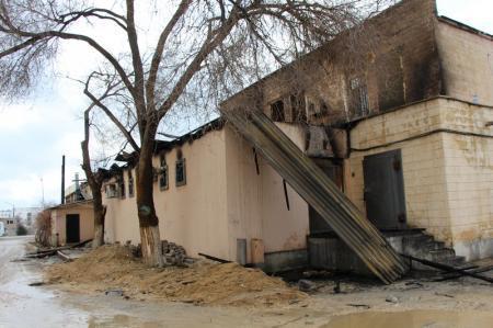 Кафе «Ветерок» после пожара. Фотопост