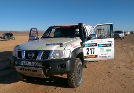 Казахстанские экипажи успешно завершили четвертый этап Africa Eco Race-2015