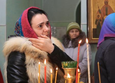 Православные христиане Актау встретили Рождество Христово