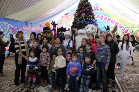 В Актау прошла благотворительная елка для воспитанников детского дома