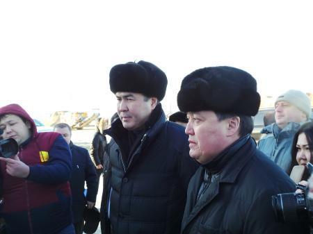 Улан Алипов: Более миллиарда тенге требуется на завершение строительства автодороги Актау-Курык