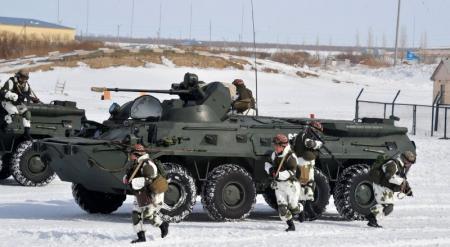 Вооруженные силы РК приведены в высшую степень боевой готовности