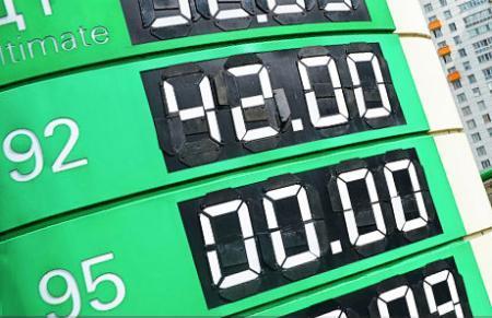 Бензин по 42 тенге за литр?