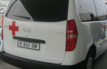 На автотрассе Актау-Бейнеу перевернулся автомобиль «Лада»