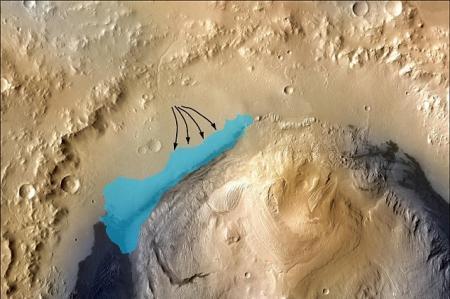 Ученые нашли на Марсе возможные следы жизни