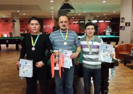 В Актау определились победители турнира по бильярдному спорту