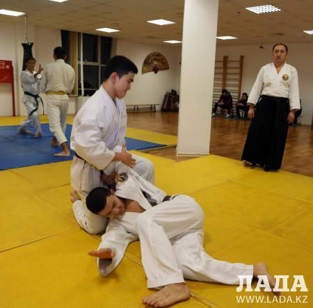 Основатель стиля айки-карате провел обучающий семинар в Актау