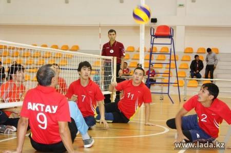 В Актау обещали построить специальный спортивный зал для инвалидов