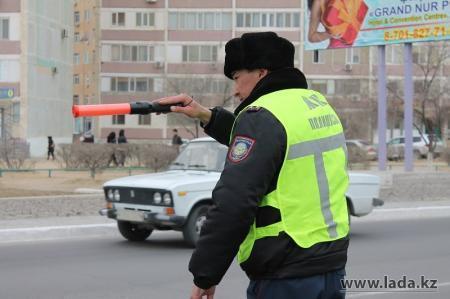 В Актау стартовала акция «Пьяный водитель - преступник»