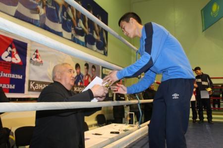 В Актау определили участников отборочной группы в чемпионат Казахстана по боксу