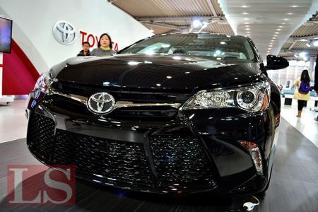 Toyota представила Camry шестого поколения