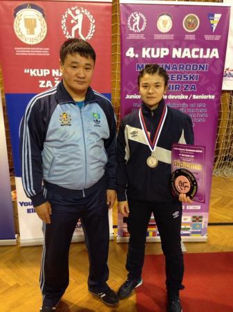 Мангистауская спортсменка Жанна Баскаева стала серебряным призером международного турнира по боксу в Сербии