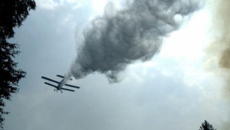 В Жамбылской области разбился самолет АН-2