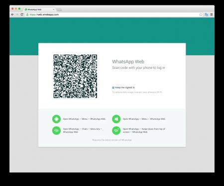 WhatsApp запустил веб-клиент для браузеров Chrome и смартфонов Android, Windows, BlackBerry