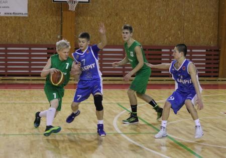Молодые мангистауские баскетболисты вернулись из Латвии