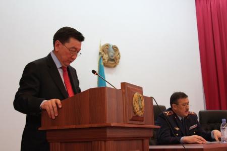 Оперативное совещание с участием представителя МВД прошло в мангистауской полиции