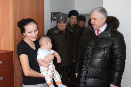 Заместитель министра МВД РК Владимир Божко посетил жанаозенское противопожарное депо