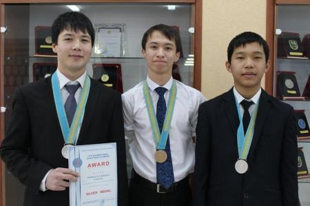 Ученики актауского КТЛ стали призерами на международной Жаутыковской олимпиаде