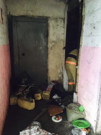 В 29 доме 8 микрорайона Актау загорелась проводка