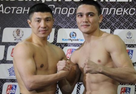 Мангистауский боксер Абдрахманов оказался легче соперника по финалу AIBA Pro Boxing