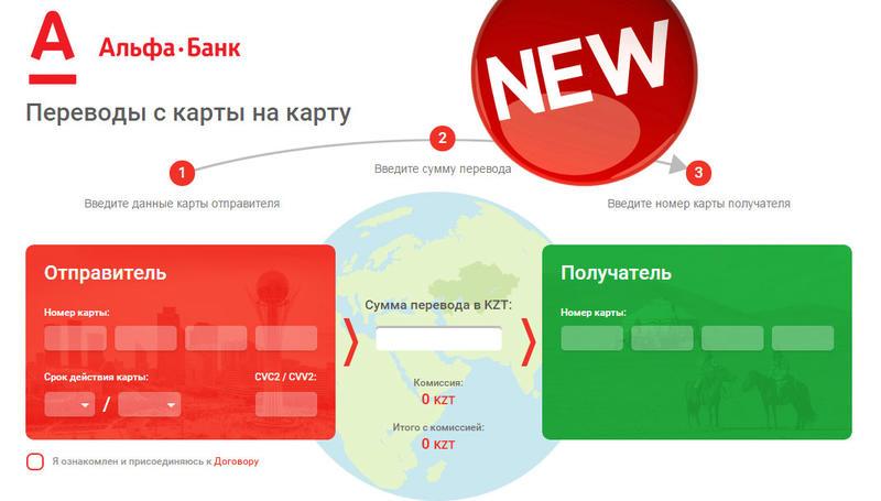 Как сделать карту альфа банк